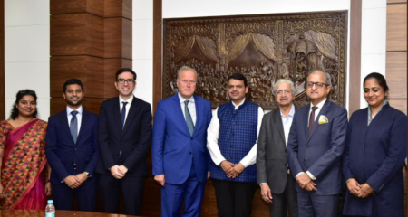 CWEIC Meets the Honorable Chief Minister of Maharashtra