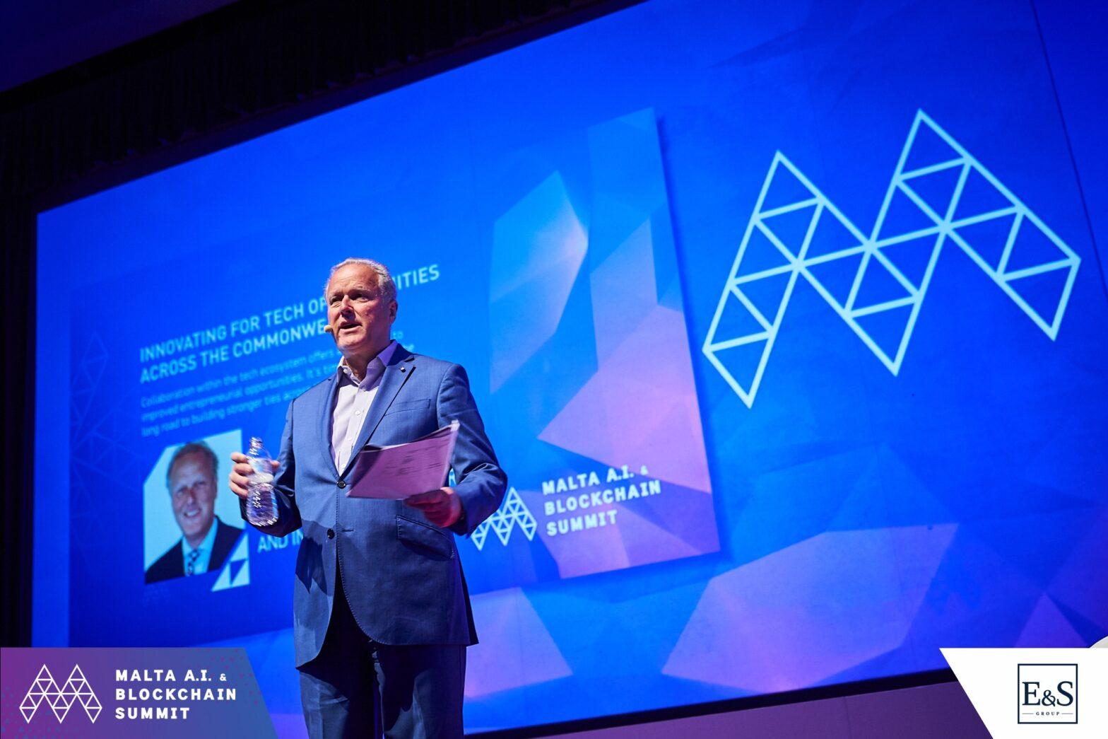Commonwealth Session at the Malta A.I. & Blockchain Summit, April 2019