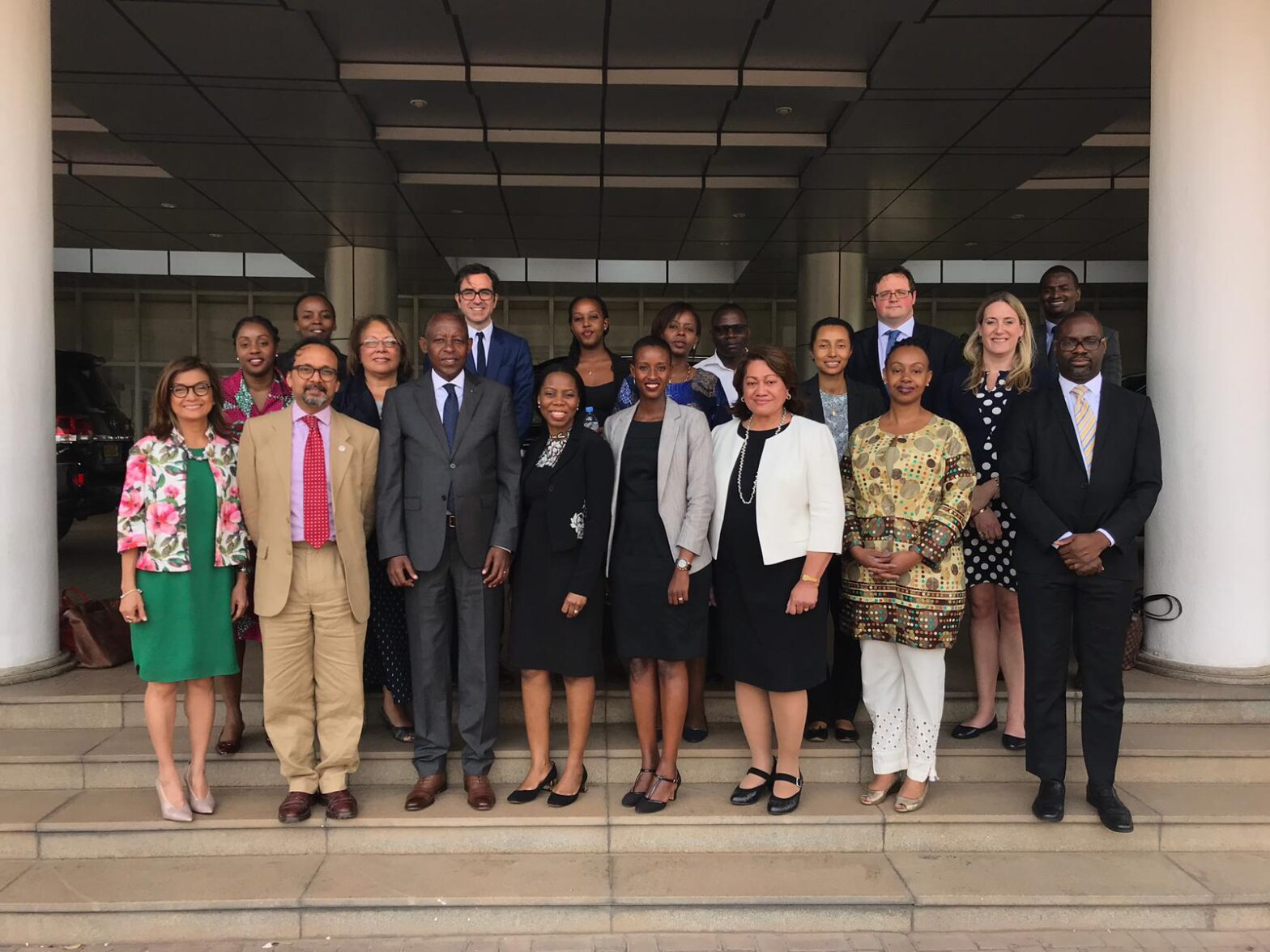 Joining the Commonwealth Secretariat's missions to Kigali to plan for the Commonwealth Business Forum