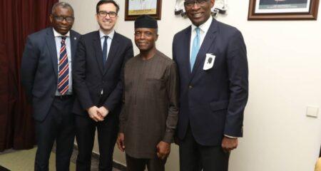 Calling on HE Vice-President Osinbajo, Abuja, 2019
