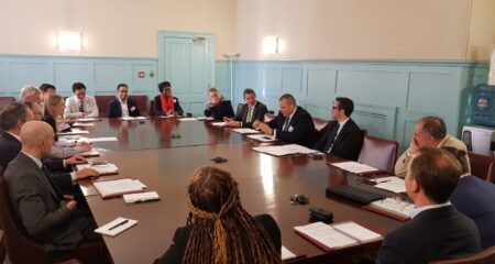 Business Roundtable with New Zealand's Commonwealth Trade Envoy, Marlborough House, London, May 2019