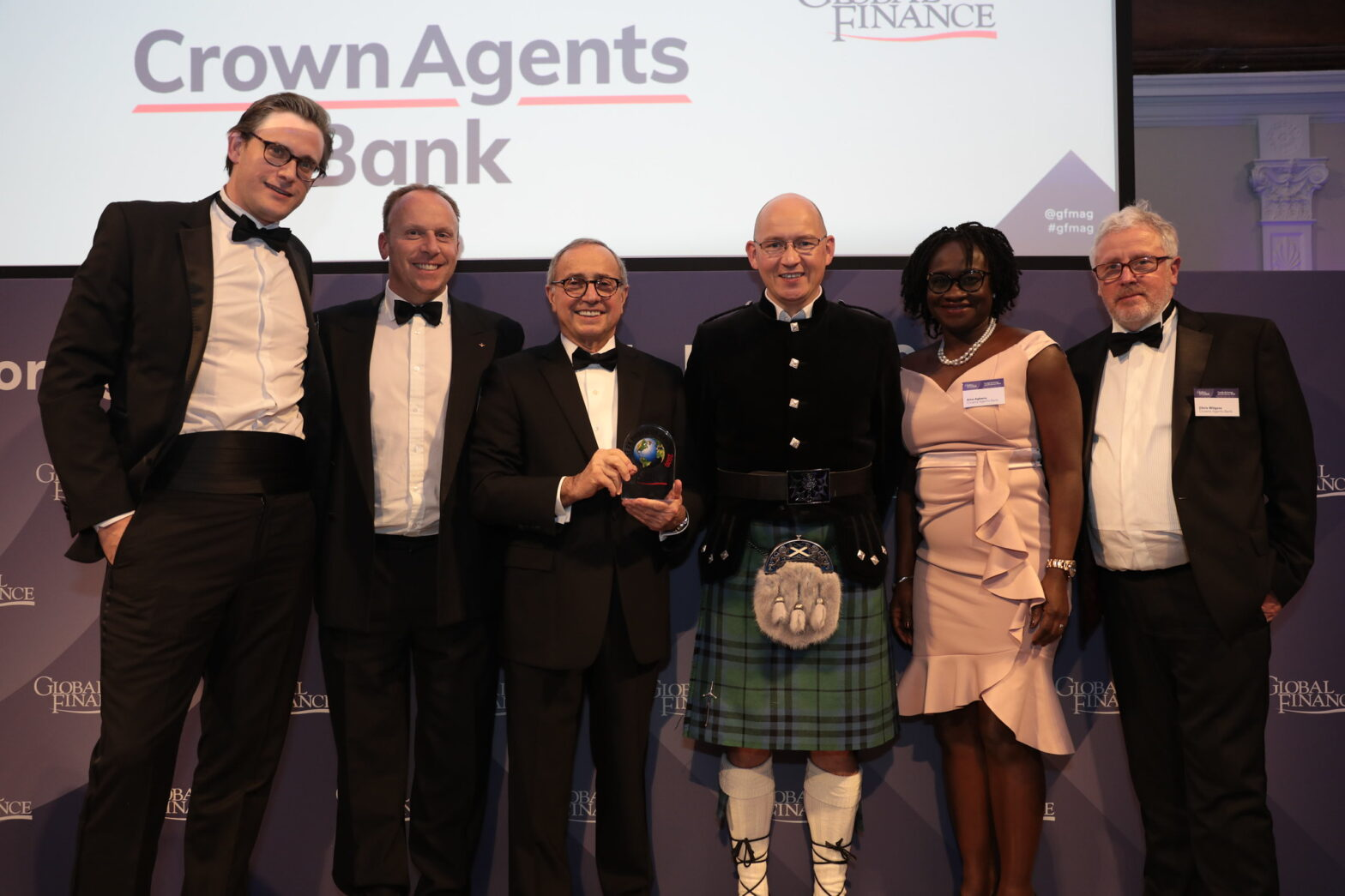 Crown Agents Bank wins Foreign Exchange Award for Best FX Provider for Emerging Market Currencies