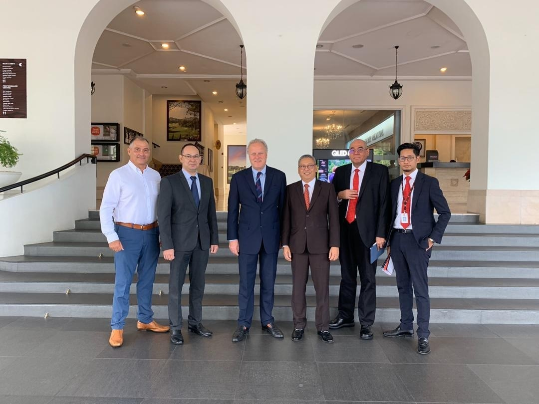 CWEIC Chairman Lord Marland visits Kuala Lumpur for meetings with Business and Government Leaders