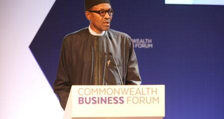 HE Muhammadu Buhari, President of Nigeria Champions Commonwealth Trade in The Times