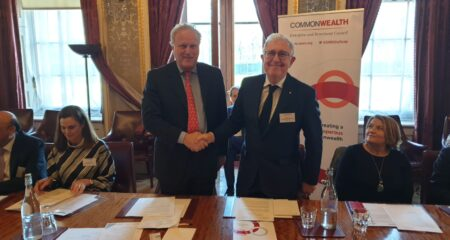 CWEIC Signs MOU with the Association of Commonwealth Universities