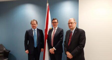 CWEIC Deputy-Chair Sir Hugo Swire visits Jersey