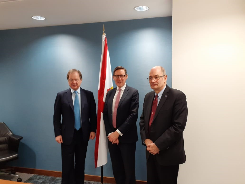 CWEIC Deputy-Chair Sir Hugo Swire visits Jersey