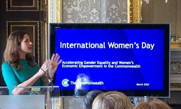 CWEIC joins Commonwealth International Women's Day Event at Marlborough House