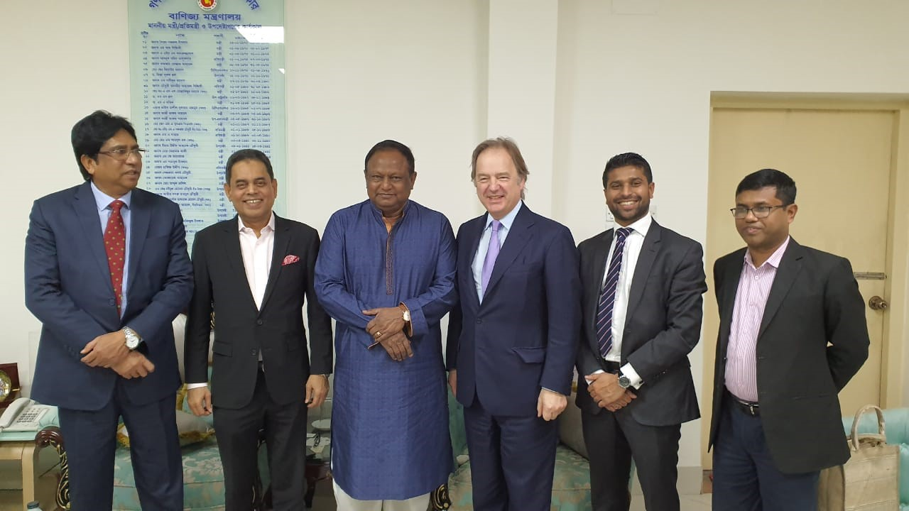 CWEIC visits Bangladesh to meet with business and government leaders