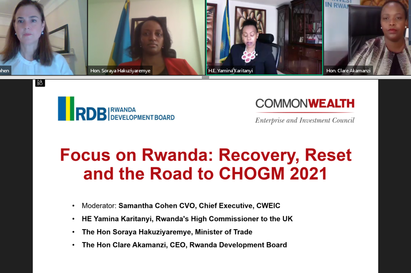 Focus on Rwanda: Recovery, Reset and the Road to CHOGM 2021