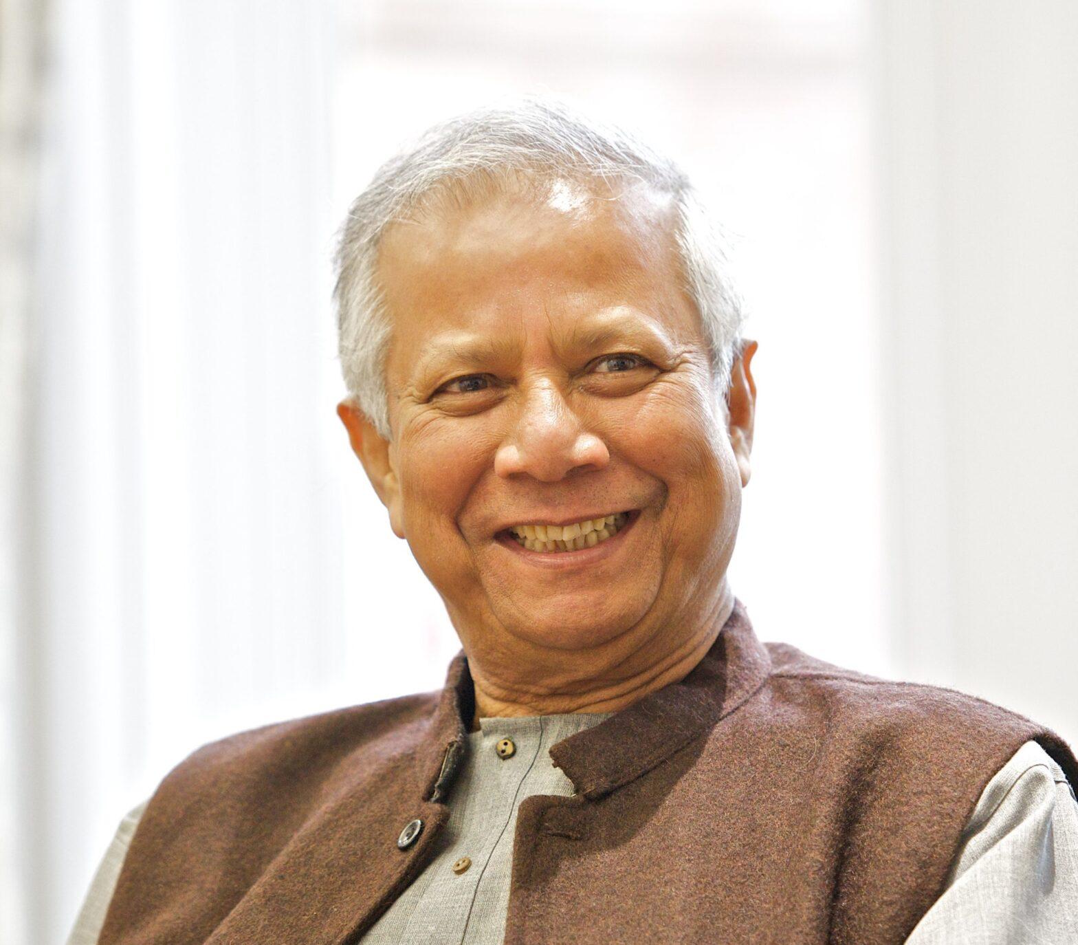 CWEIC Leadership Series: A Conversation with Muhammad Yunus