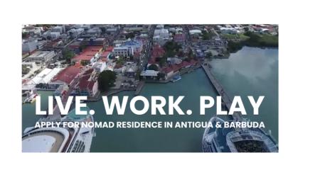 Antigua Launches 'Nomad Residence' Visa