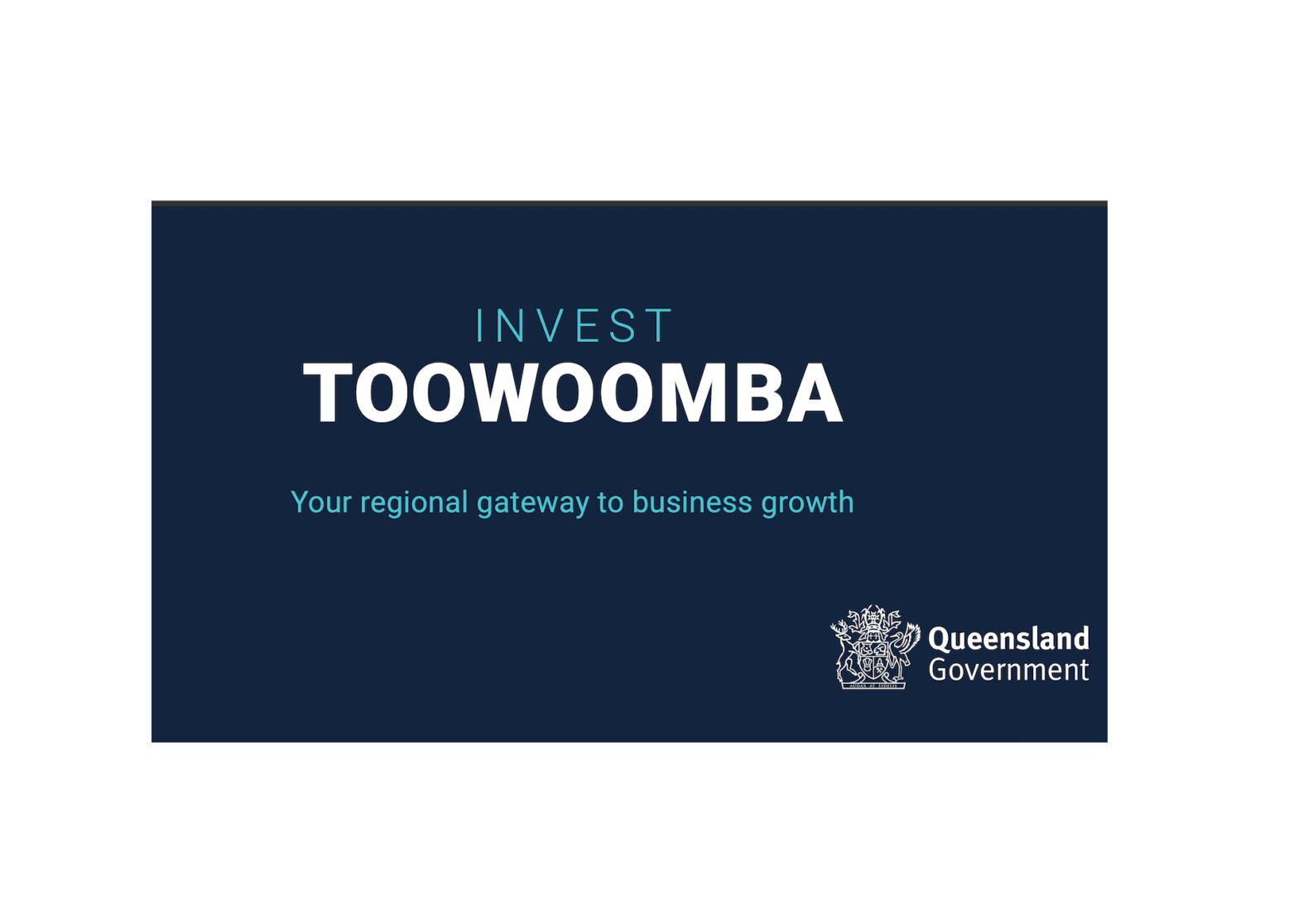 Queensland Government release 'Invest Toowoomba' prospectus