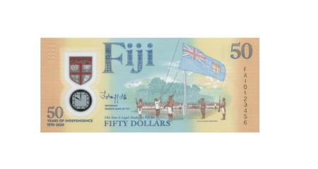 De La Rue chosen to mark Fiji's Independence