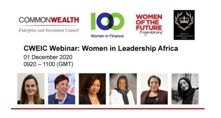 CWEIC Webinar: Women in Leadership Africa
