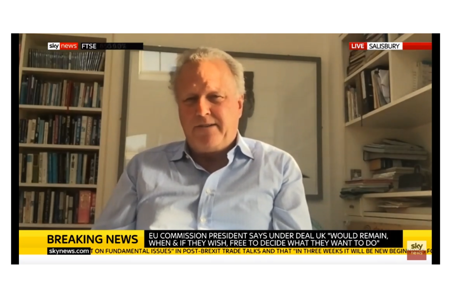 CWEIC Chairman Lord Marland interviewed on Sky News