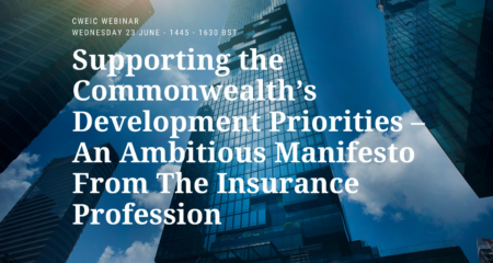 Supporting the Commonwealth's development priorities: An ambitious manifesto from the insurance profession