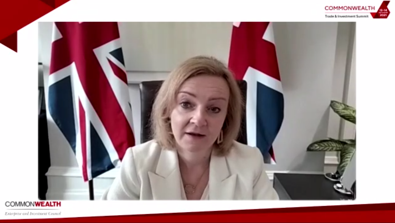 Commonwealth Trade and Investment Summit opened by The Rt Hon. Liz Truss