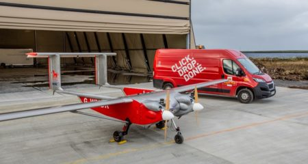 Countdown to COP - Royal Mail trials delivering 100% of remote community's mail by lower emission drone